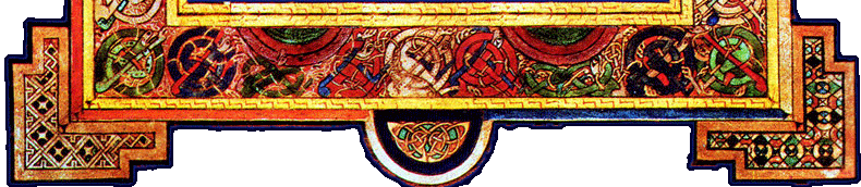 Book of Kells footer image